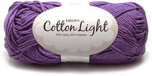Drops Cotton Light Uni Colour 13 Violet