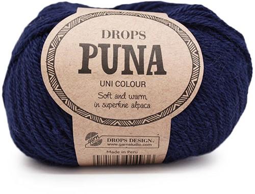 Drops Puna Uni Colour 13 Navy Blue