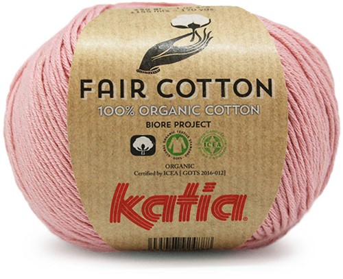 Katia Fair Cotton 13 Light Pink
