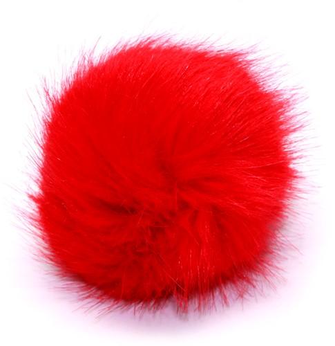 Rico Fake Fur Pompon Medium 14 Orange