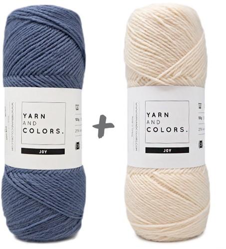 Baby Dream Blanket 3.0 Crochet Kit 4 Denim Stroller Blanket