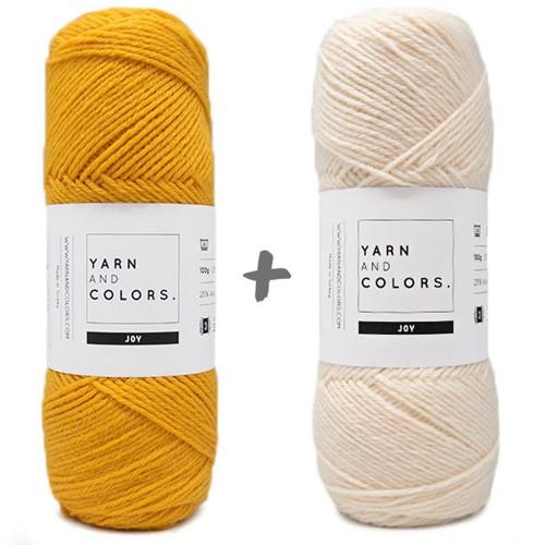 Baby Dream Blanket 3.0 Crochet Kit 2 Mustard Stroller Blanket