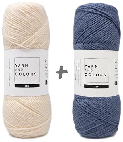 Reversible Baby Dream Blanket 3.0 Crochet Kit 4 Denim Cot Blanket