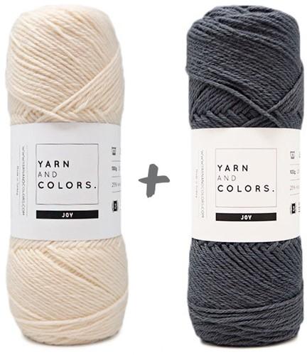 Reversible Baby Dream Blanket 3.0 Crochet Kit 7 Graphite Cot Blanket
