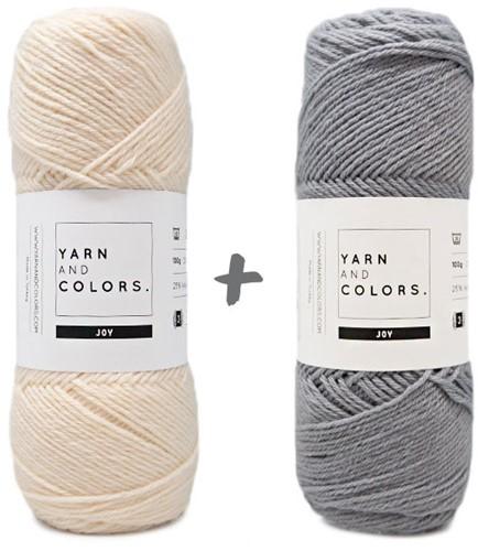Reversible Baby Dream Blanket 3.0 Crochet Kit 6 Shark Grey Stroller Blanket