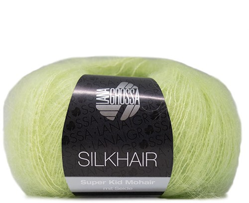 Lana Grossa Silkhair 141 Yellow Green