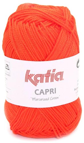 Katia Capri 143 Deep orange