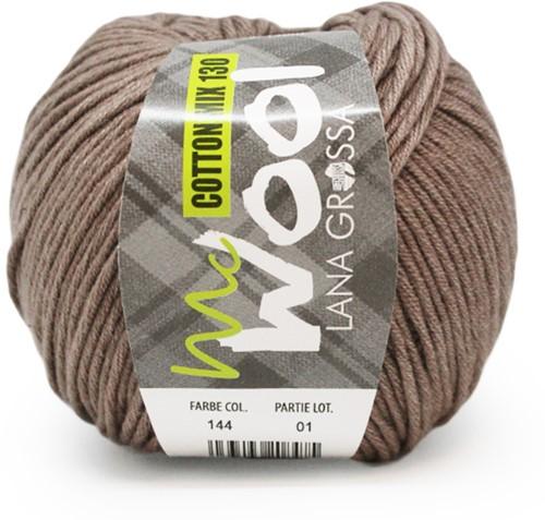 Lana Grossa Cotton Mix 130 144 Taupe