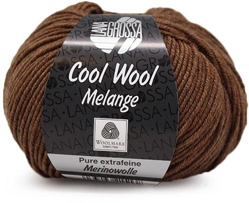 Lana Grossa Cool Wool Melange 144 Brown Mottled