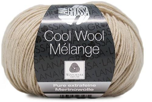 Lana Grossa Cool Wool Melange 147 Natural Mottled