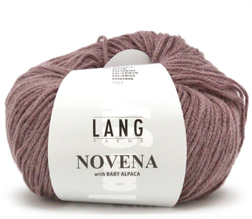 Lang Yarns Novena 148 Old Pink