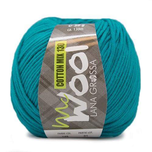 Lana Grossa Cotton Mix 130 148 Petrol