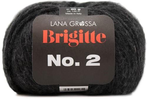 Lana Grossa Brigitte No.2 014 Black