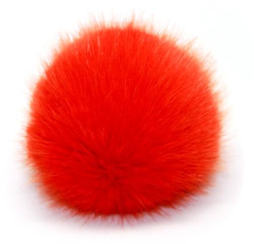 Rico Fake Fur Pompon Large 14 Orange