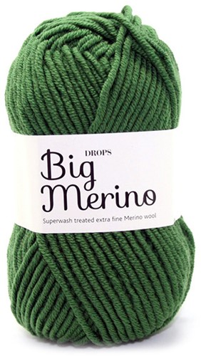 Drops Big Merino Uni Colour 14 Forest-green
