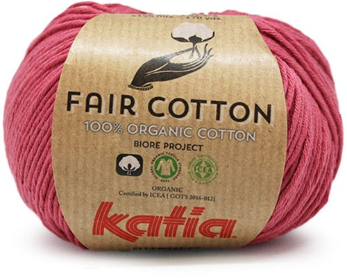 Katia Fair Cotton 14 Dark Pink