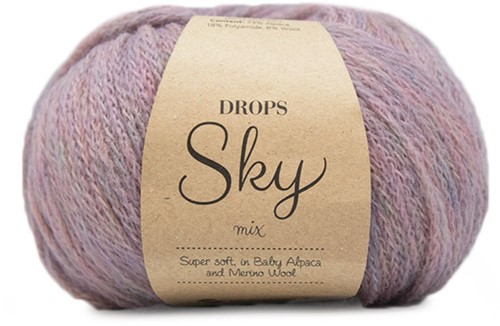 Drops Sky Mix 14 Light Lilac