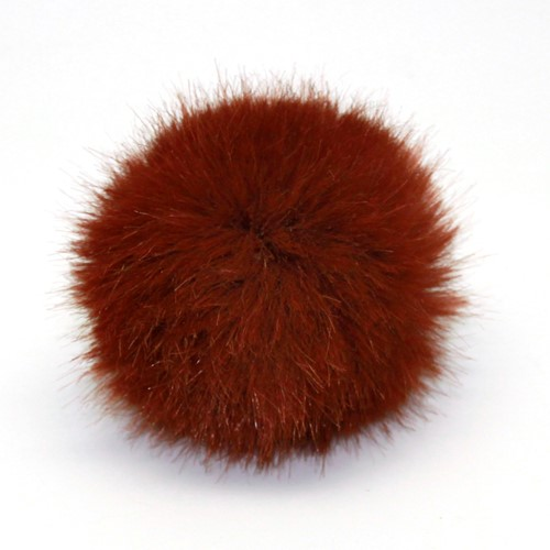 Rico Fake Fur Pompon Medium 15 Hazelnut