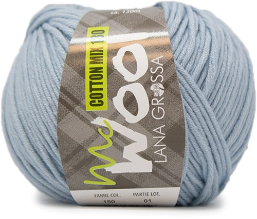 Lana Grossa Cotton Mix 130 150 Light Blue