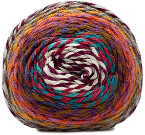 Katia Twisted Paint 150 Pearl / Light Purple / Orange