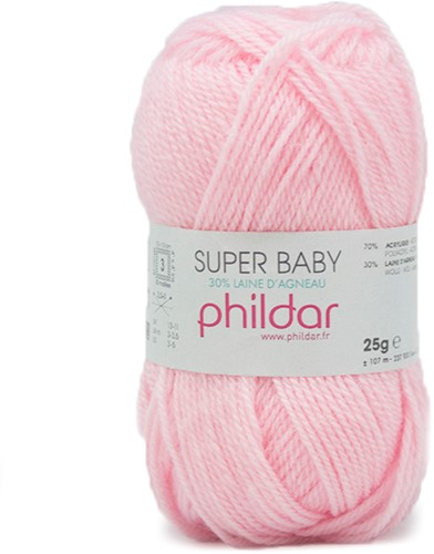 Phildar Super Baby 152 Rose