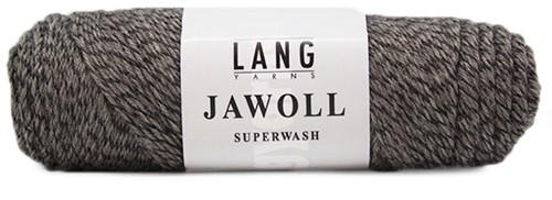 Lang Yarns Jawoll Superwash 152 Brown/Black Mouliné