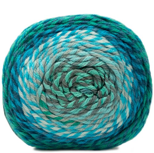 Katia Twisted Paint 154 Turquoise / Grey