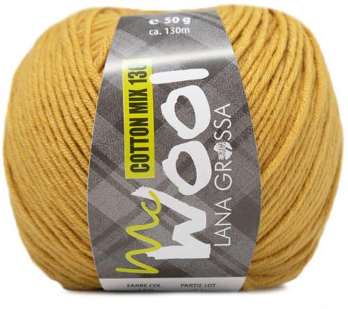 Lana Grossa Cotton Mix 130 156 Mustard Yellow