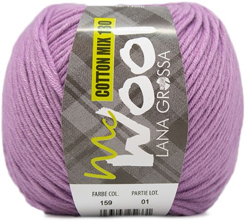 Lana Grossa Cotton Mix 130 159 Purple
