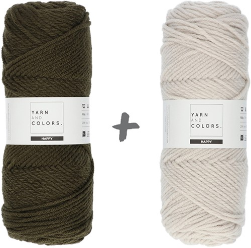 Dream Roll Cushion 4.0 Crochet Kit 15 Khaki & Birch