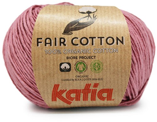 Katia Fair Cotton 15 Old Pink