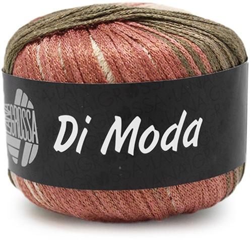 Lana Grossa Di Moda 15 Terracotta / Dark Olive / Khaki-Brown