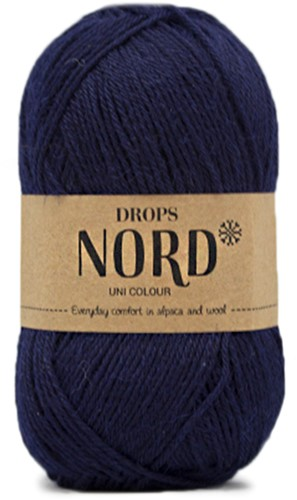 Drops Nord Uni Colour 15 Navy Blue