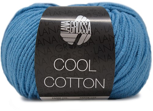 Lana Grossa Cool Cotton 15 Azure Blue