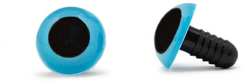 Safety Eyes Blue 15mm per pair