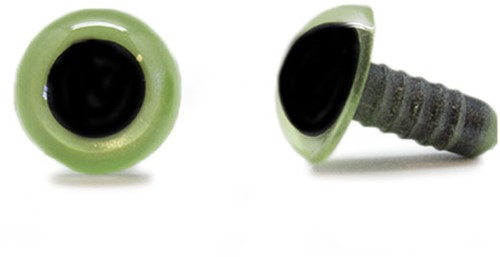 Safety Eyes Olive Green 15mm per pair