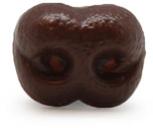 Safety Nose Dog Brown 15mm