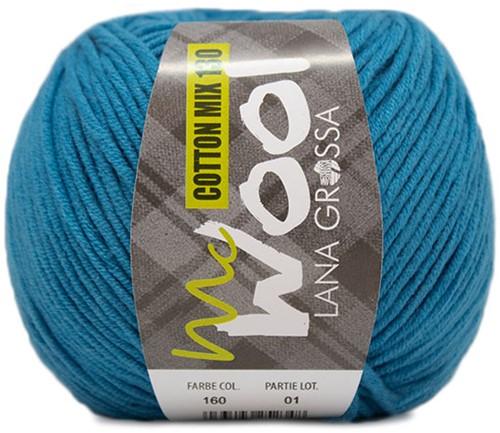 Lana Grossa Cotton Mix 130 160 Cornflower