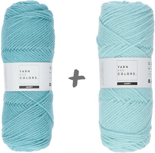 Dream Roll Cushion 4.0 Crochet Kit 16 Glass & Jade Gravel