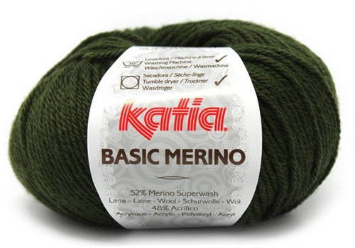Katia Basic Merino 16 Dark green