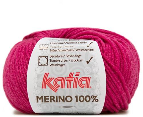 Katia Merino 100% 16 Fuchsia