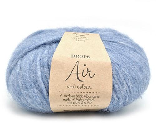 Drops Air Uni Colour 16 Blue