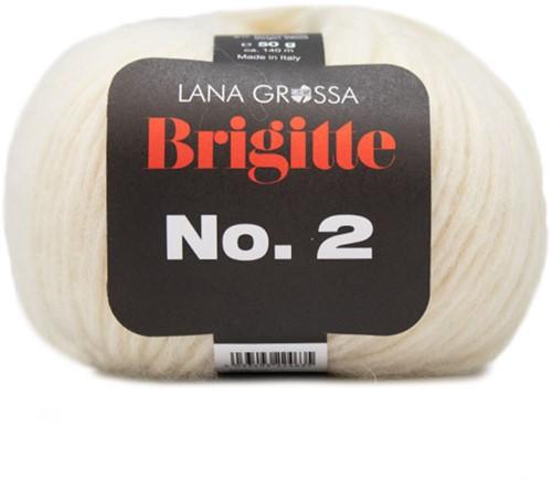 Lana Grossa Brigitte No.2 016 Raw White