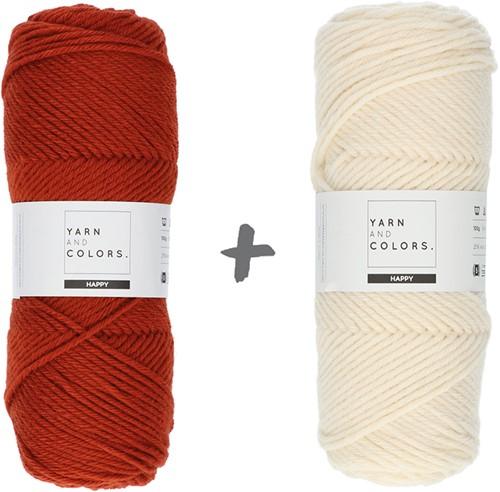 Dream Blanket 4.0 CAL Crochet Kit 17 Chestnut & Cream