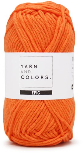 Yarn and Colors Epic 017 Papaya