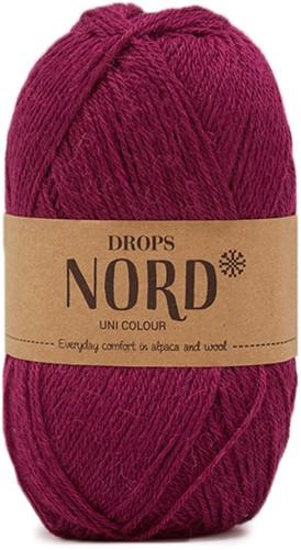 Drops Nord Uni Colour 17 Plum