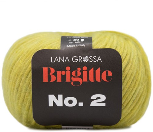 Lana Grossa Brigitte No.2 017 Green/Yellow
