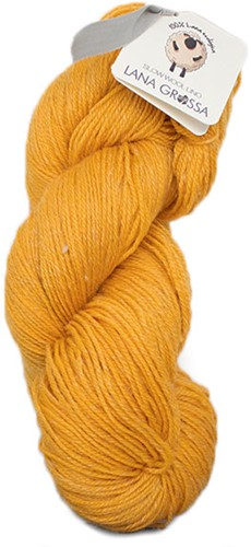Lana Grossa Slow Wool Lino 17 Safran Yellow