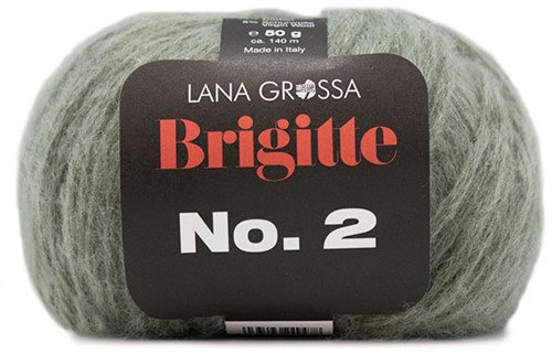 Lana Grossa Brigitte No.2 018 Mint
