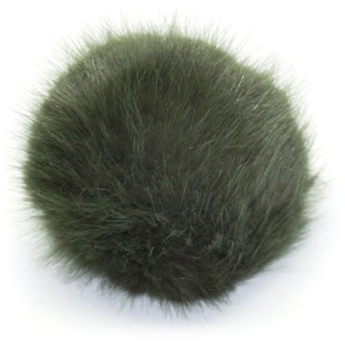 Rico Fake Fur Pompon Large 18 Olive